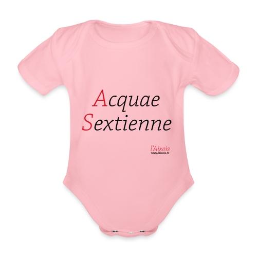 ACQUA SEXTIENNE - Body Bébé bio manches courtes