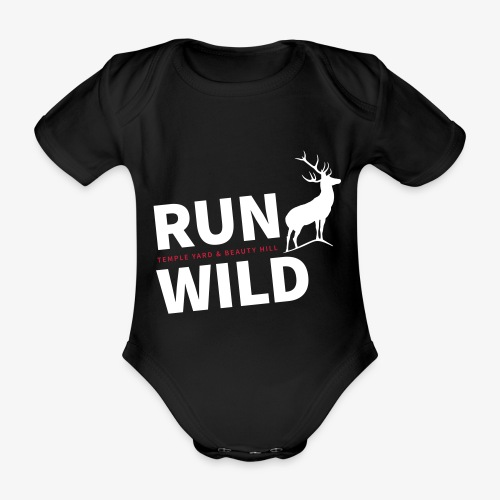 RUN WILD Temple Yard & Beauty Hill - Baby Bio-Kurzarm-Body