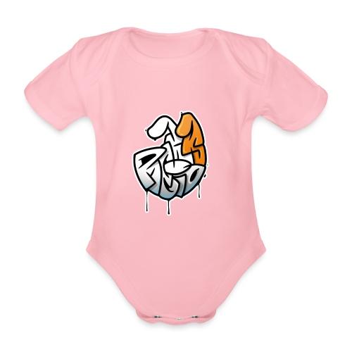 PRL DOG - Ekologiczne body niemowlęce z krótkim rękawem
