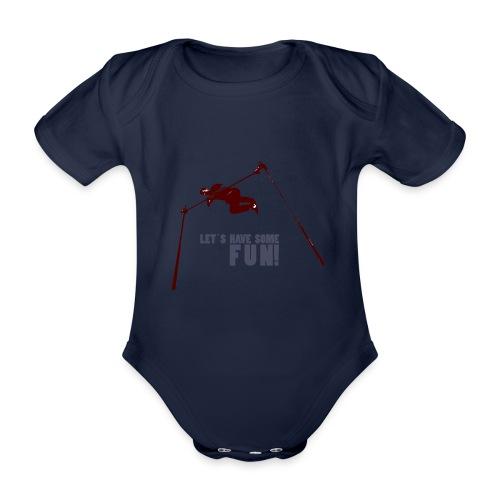 Let s have some FUN - Baby bio-rompertje met korte mouwen