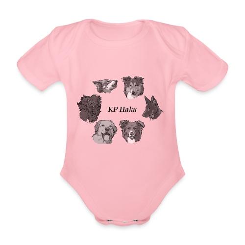 Tintti - Vauvan lyhythihainen luomu-body