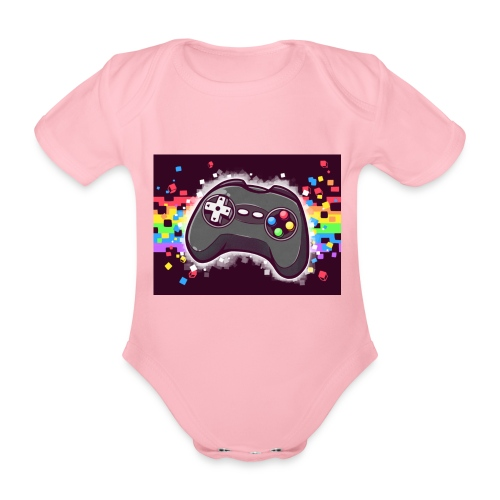 Gaming controller - Baby Bio-Kurzarm-Body