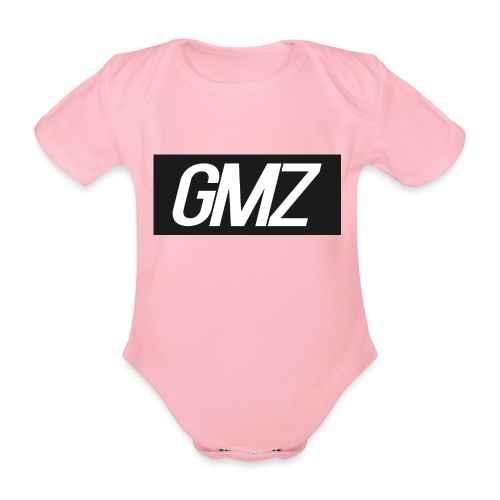Untitled 3 - Organic Short-sleeved Baby Bodysuit
