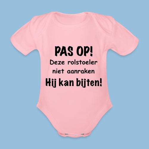 Pasop2 - Baby bio-rompertje met korte mouwen