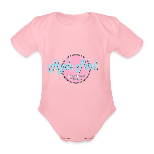 HydePark BabyPink - Baby Bio-Kurzarm-Body