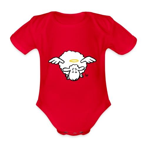 Angel Sheep - Baby Bio-Kurzarm-Body
