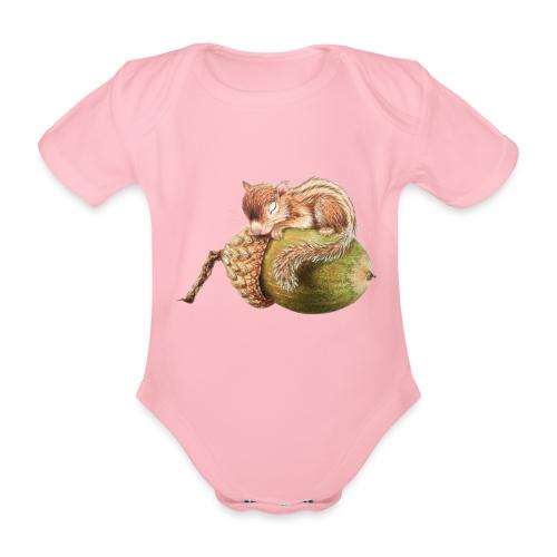 eekhorentje - Organic Short-sleeved Baby Bodysuit