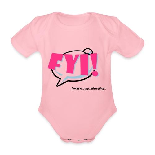 FYI.ai - Vauvan lyhythihainen luomu-body