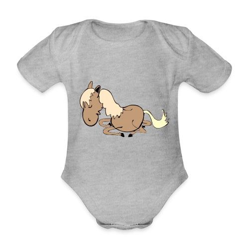 dpferd10 - Baby Bio-Kurzarm-Body