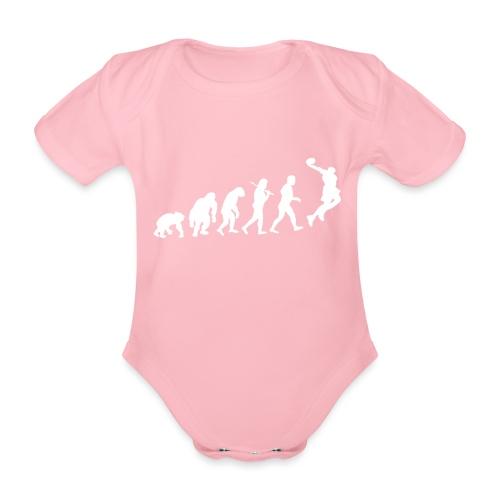 Basketball Evolution - Baby Bio-Kurzarm-Body