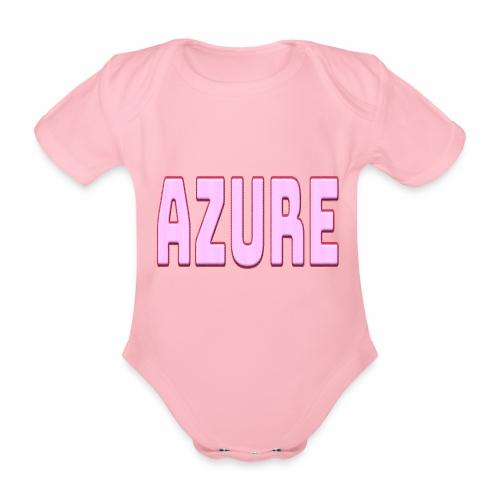 AZURE - Body Bébé bio manches courtes