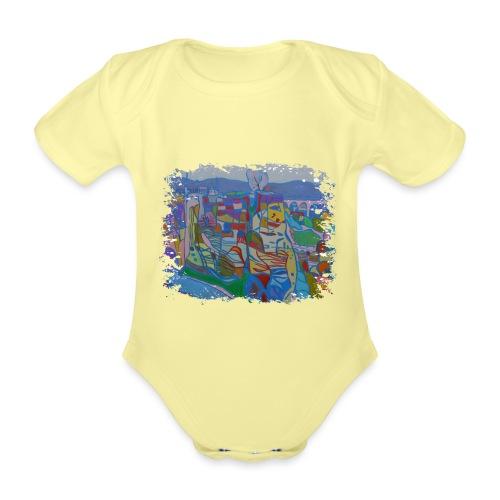 Luxemburg - Baby Bio-Kurzarm-Body
