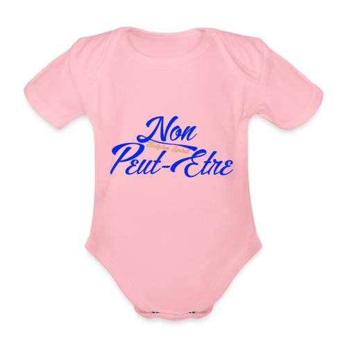 BELGIAN-NONPEUTETRE - Body Bébé bio manches courtes