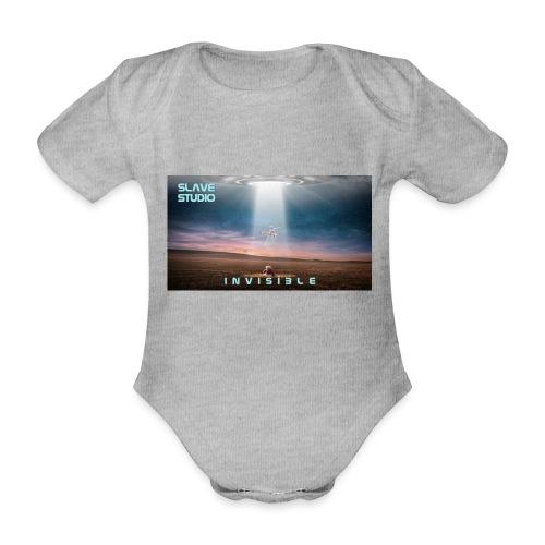 INVISIBLE - Body ecologico per neonato a manica corta