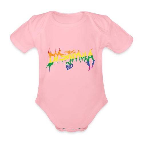 dysthymia pride - Ekologisk kortärmad babybody