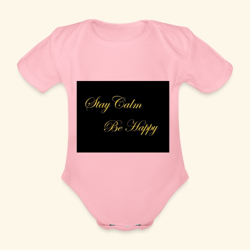 Be Happy - Body Bébé bio manches courtes