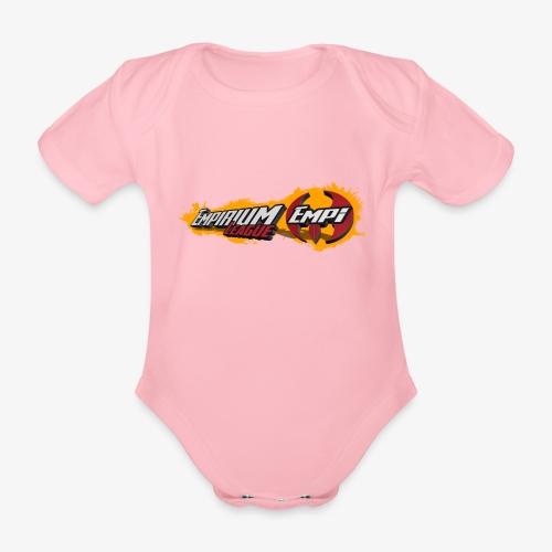 Logo EMPi fond jaune - Body bébé bio manches courtes