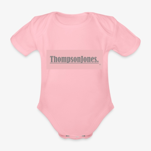 Label ThompsonJones - Baby Bio-Kurzarm-Body
