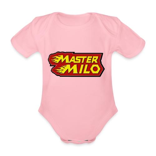 MasterMilo - Baby bio-rompertje met korte mouwen