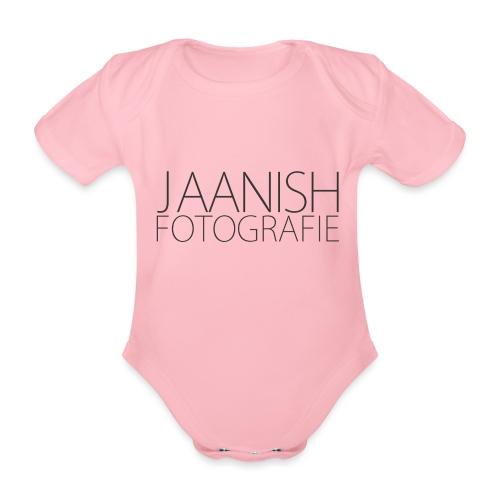 LOGO JAANISH PNG - Baby bio-rompertje met korte mouwen