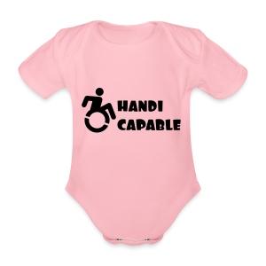 Capable - Baby bio-rompertje met korte mouwen