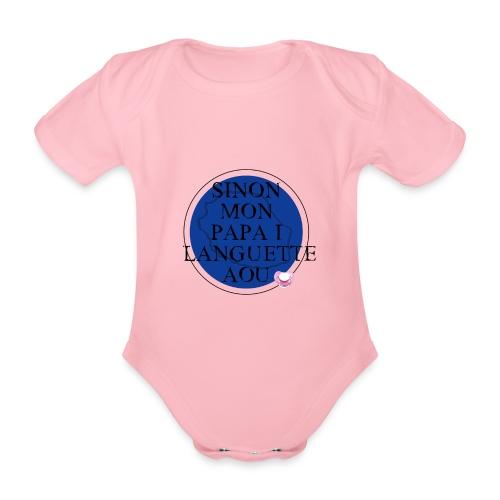 OBLIGATION - Body bébé bio manches courtes