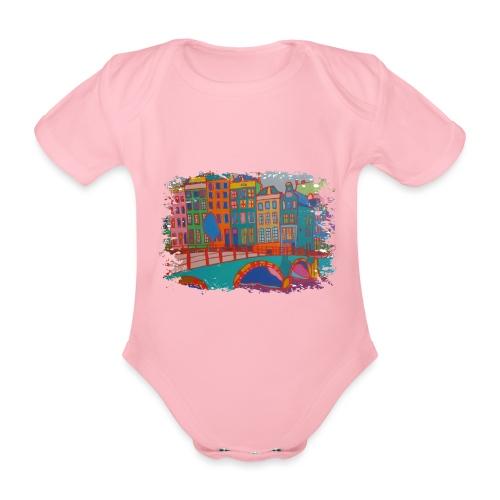 Amsterdam - Baby Bio-Kurzarm-Body
