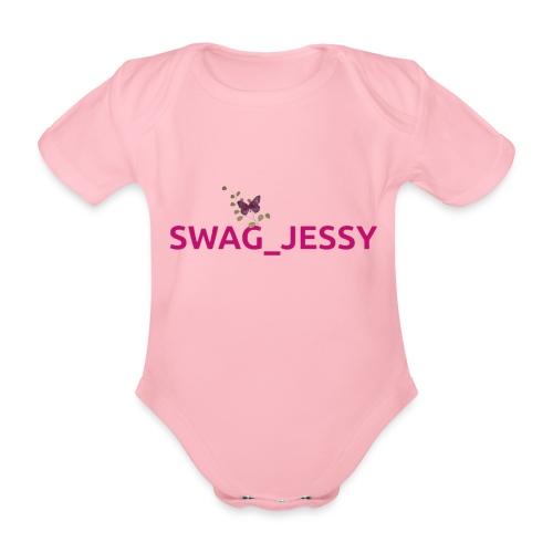 Swag_jessy - Body ecologico per neonato a manica corta