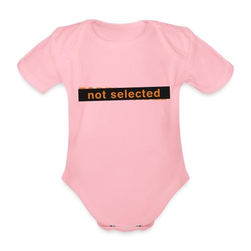 Not Selected - Baby bio-rompertje met korte mouwen