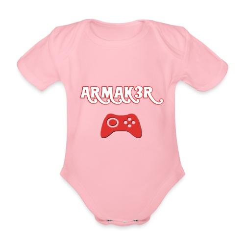 ARMAK3R - Body ecologico per neonato a manica corta