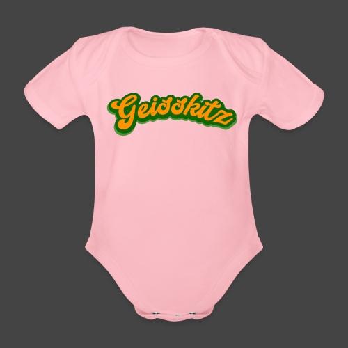 Geisskitz - Baby Bio-Kurzarm-Body