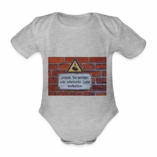 Original Artist design * Jedes Verweilen - Organic Short-sleeved Baby Bodysuit