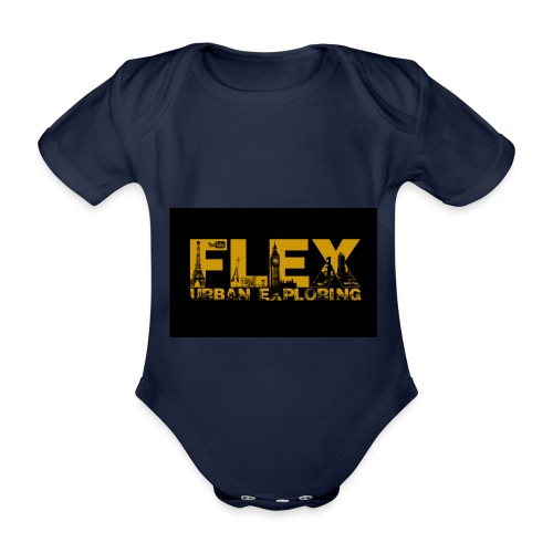 FlexUrban - Organic Short-sleeved Baby Bodysuit