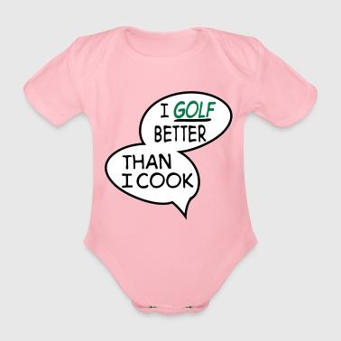 2541614 15534610 golf - Body ecologico per neonato a manica corta