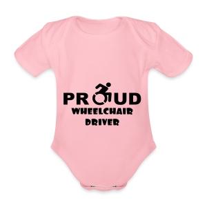 Proud - Baby bio-rompertje met korte mouwen
