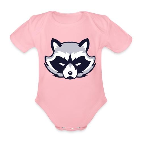 Waschbär - Baby Bio-Kurzarm-Body