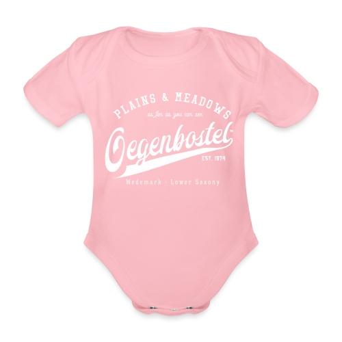 Oegenbostel Retrologo - Baby Bio-Kurzarm-Body