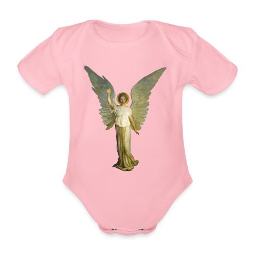 angel - Body ecologico per neonato a manica corta