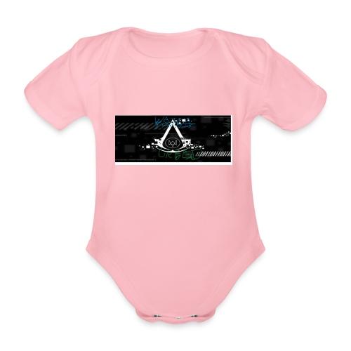 watch creed - Ekologiczne body niemowlęce z krótkim rękawem