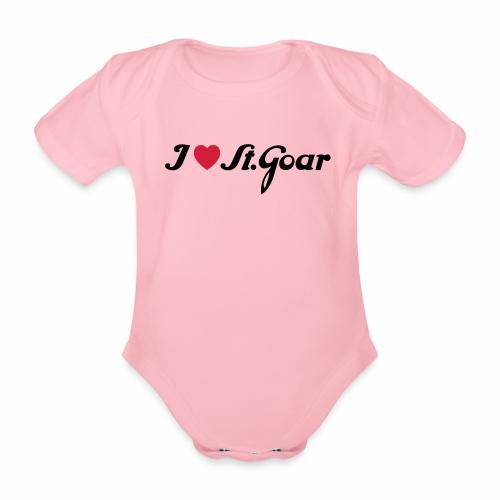 I Love St. Goar - Baby Bio-Kurzarm-Body