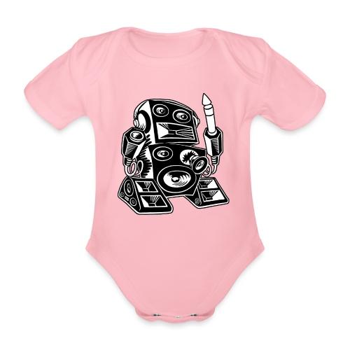 Techno-Bot 2 - Baby Bio-Kurzarm-Body