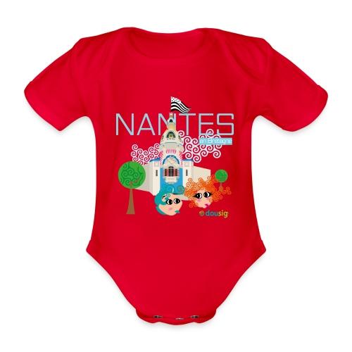Dousig Nantes en Bretagne - Body Bébé bio manches courtes
