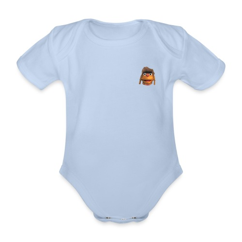 Moppi 3D - Baby Bio-Kurzarm-Body