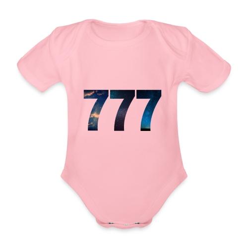 777 un nombre qui apporte chance et spiritualité - Body Bébé bio manches courtes