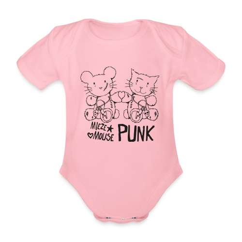 MIEZEMOUSE PUNK - Baby Bio-Kurzarm-Body