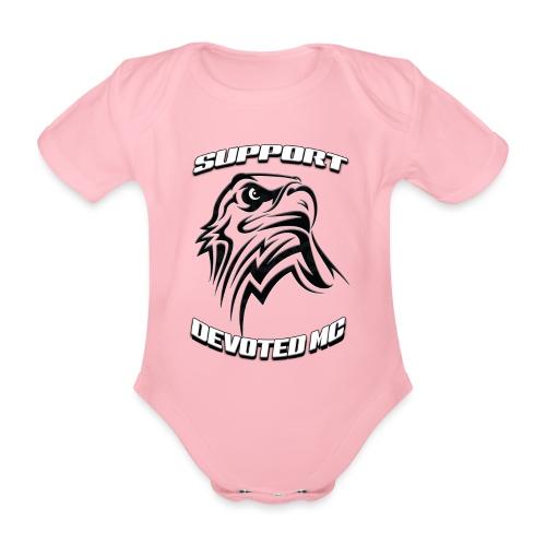 SUPPORT DEVOTEDMC E - Økologisk kortermet baby-body