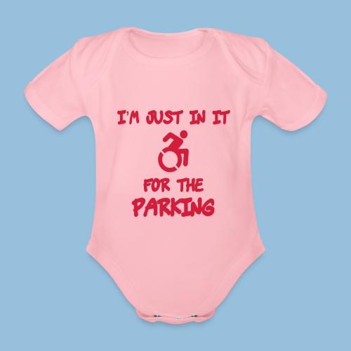 parking3 - Baby bio-rompertje met korte mouwen