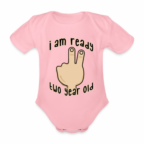 GP19B-TWO YEAR BABY PRODUCTS - 2-vuotiaalle - Vauvan lyhythihainen luomu-body