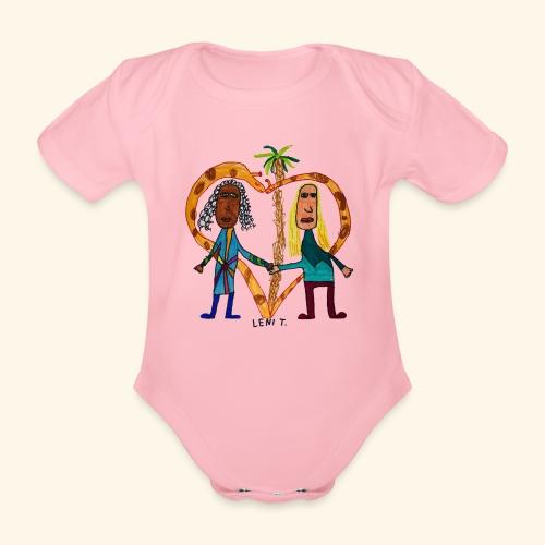 LeniT BFF - Vauvan lyhythihainen luomu-body