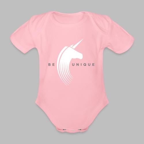 Be unique - Baby Bio-Kurzarm-Body